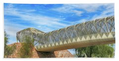 Rattlesnake Bridge Beach Towel by Teresa Zieba