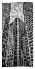 Rising Structures Beach Towel by Scott Wyatt