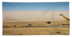 Savanna Life Beach Towel by Inge Johnsson