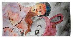 Scott Weiland - Stone Temple Pilots - Music Inspiration Series Beach Towel by Carol Crisafi