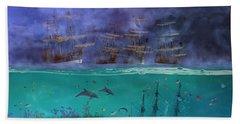 Serenity Point Beach Towel by Betsy Knapp