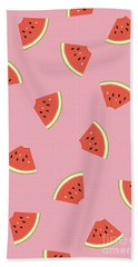 Slice Of Life Beach Towel by Elizabeth Tuck