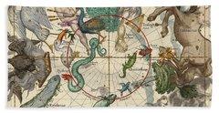 South Pole Beach Sheet by Ignace-Gaston Pardies