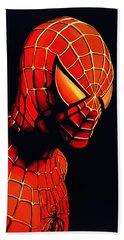 Spiderman Beach Towel by Paul Meijering
