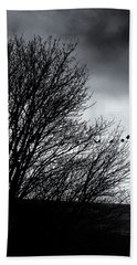 Starlings Roost Beach Towel by Philip Openshaw