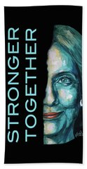 Stronger Together Beach Towel by Konni Jensen