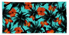 Summer Time  Beach Towel by Mark Ashkenazi