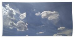 Summertime Sky Expanse Beach Towel by Arletta Cwalina