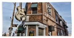 Sun Studio - Memphis #1 Beach Towel by Stephen Stookey