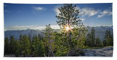 Sunrise On Sentinel Dome Beach Sheet by Rick Berk