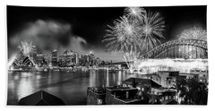 Sydney Spectacular Beach Towel by Az Jackson