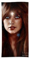 Taylor Swift - Goddess Beach Sheet by Robert Radmore