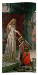 The Accolade Beach Sheet by Edmund Blair Leighton