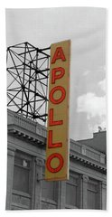 The Apollo In Harlem Beach Sheet by Danny Thomas