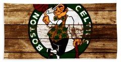 The Boston Celtics W6 Beach Towel by Brian Reaves