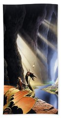 The Citadel Beach Towel by The Dragon Chronicles - Steve Re