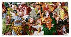 The Concert Of Angels Beach Sheet by Gaudenzio Ferrari