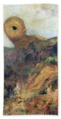 The Cyclops Beach Sheet by Odilon Redon