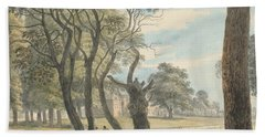 The Gunpowder Magazine, Hyde Park Beach Towel by Paul Sandby