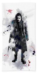 The Joker Beach Sheet by Marlene Watson