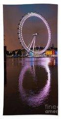 The London Eye Beach Towel by Stephen Smith