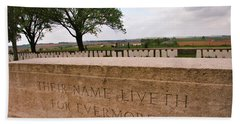 Beach Towel featuring the photograph Their Name Liveth For Evermore by Travel Pics