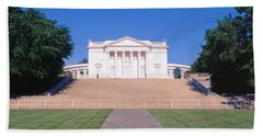 Tomb Of The Unknown Soldier, Arlington Beach Sheet by Panoramic Images