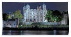 Tower Of London Beach Sheet by Joana Kruse