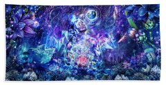 Transcension Beach Towel by Cameron Gray