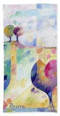 Trio Beach Towel by Beatrice BEDEUR