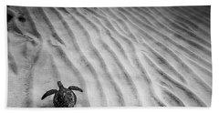 Turtle Ridge Beach Towel by Sean Davey