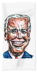Vice President Joe Biden Beach Towel by Robert Yaeger