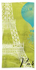 Viva La Paris Beach Sheet by Mindy Sommers