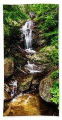 Walker Falls Beach Towel by Jeremy Clinard