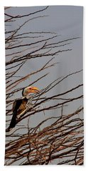 With The Grain Beach Towel by Stacie Gary