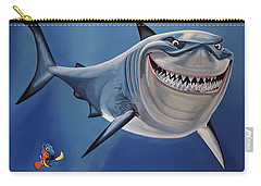 Finding Nemo Painting Carry-all Pouch by Paul Meijering