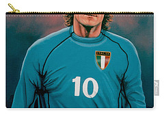 Francesco Totti Italia Carry-all Pouch by Paul Meijering