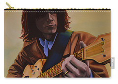Neil Young Painting Carry-all Pouch by Paul Meijering