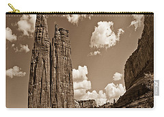 Spider Rock Canyon De Chelly Carry-all Pouch by Bob and Nadine Johnston