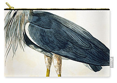 The Heron  Carry-all Pouch by Peter Paillou