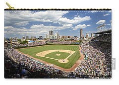0415 Wrigley Field Chicago Carry-all Pouch by Steve Sturgill