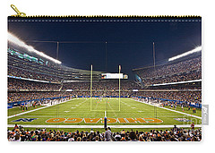 0587 Soldier Field Chicago Carry-all Pouch by Steve Sturgill