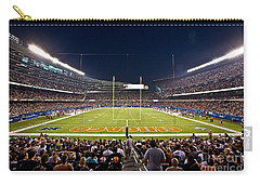 0588 Soldier Field Chicago Carry-all Pouch by Steve Sturgill
