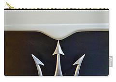 2005 Maserati Mc12 Hood Emblem Carry-all Pouch by Jill Reger
