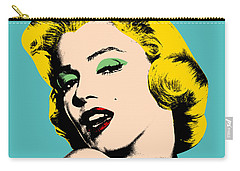 Andy Warhol Carry-all Pouch by Mark Ashkenazi