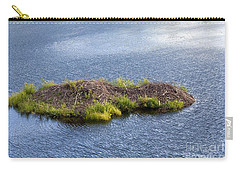 Beaver Lodge Carry-all Pouch by Bob Gibbons