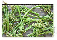 Broccoli Stems Carry-all Pouch by Tom Gowanlock