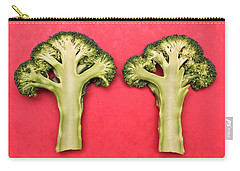 Broccoli Carry-all Pouch by Tom Gowanlock
