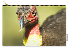 Brush Scrub Turkey Carry-all Pouch by Jorgo Photography - Wall Art Gallery