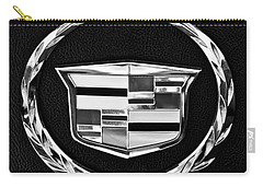 Cadillac Emblem Carry-all Pouch by Jill Reger